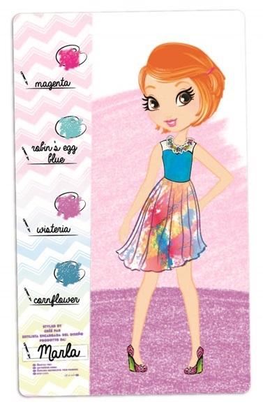 Crayola Creations - Fashion Sketch Set image