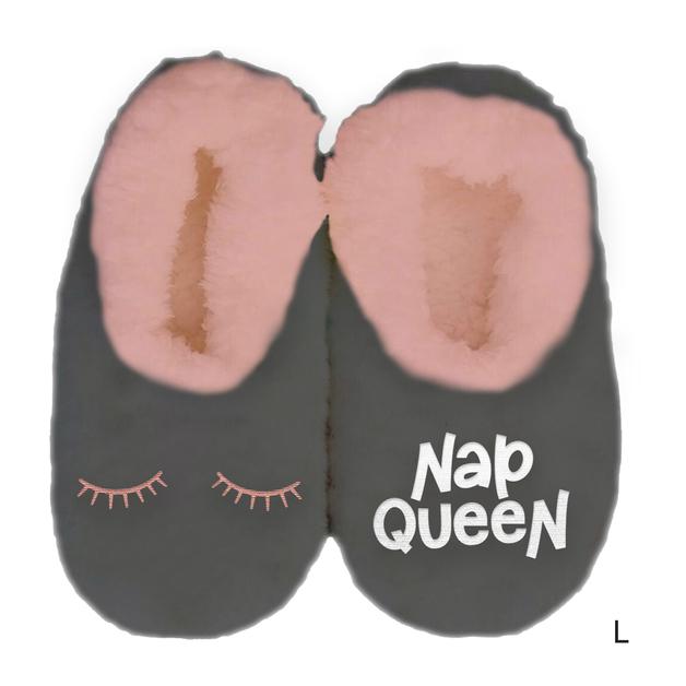 Sploshies: Women's Duo Slippers - Nap Queen (Large)