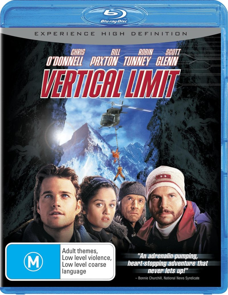 Vertical Limit on Blu-ray image