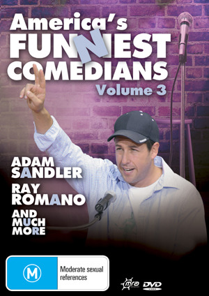America's Funniest Comedians - Vol. 3 on DVD