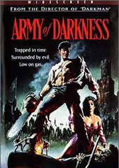 Evil Dead 3 - Army Of Darkness on DVD