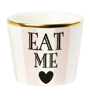 Miss Étoile - Pink Stripe Egg Cup