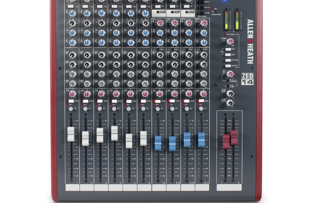 ZED-14 Multipurpose Mixer For Live Sound And Recording