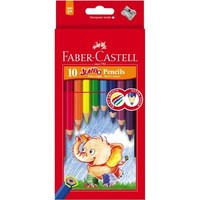 Faber-Castell Jumbo Coloured Pencils (10 Pack) image