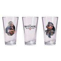 The Witcher 3 Geralt and Ciri Pint Glass Set