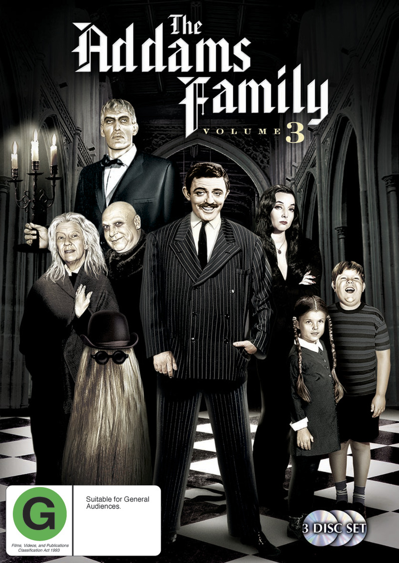 The Addams Family (1964) - Vol. 3 (3 Disc Set) on DVD image