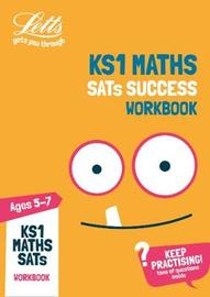 KS1 Maths SATs Practice Workbook by Letts KS1 image