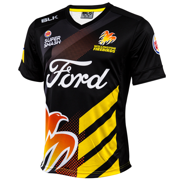 Wellington Firebirds Replica 2017/18 Playing Shirt (Medium)