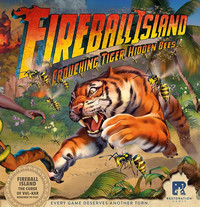 Fireball Island the Curse of Vul-Kar: Crouching Tiger, Hidden Bees! Expansion