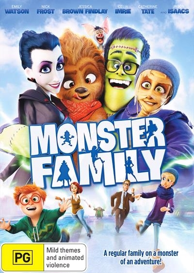 Monster Family on DVD