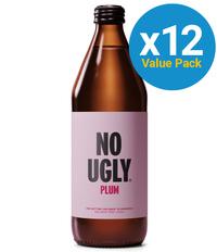 No Ugly: Wellness Tonic - Plum 250ml (12 Pack)
