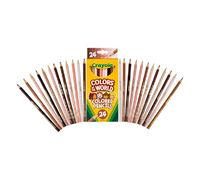 Crayola: Colors of the World Pencils - (24 Piece)