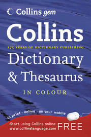 Collins Dictionary and Thesaurus image