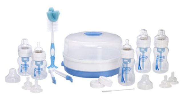 Dr Brown's Deluxe Newborn Feeding Set - Wide Neck image