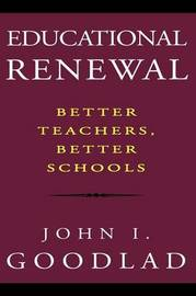 Educational Renewal by John I Goodlad image