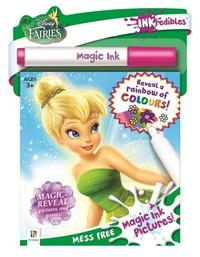 Inkredibles: Disney Fairies - Magic Ink Picture Set