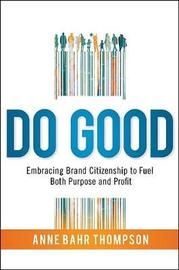 DO GOOD by Anne Bahr Thompson image