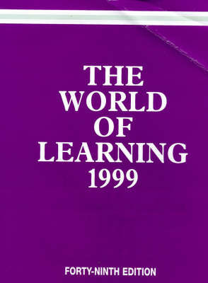 The World of Learning by Europa Publications