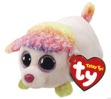 Ty Teeny: Floral Poodle - Small Plush