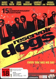 Reservoir Dogs - 15th Anniversary Edition (2 Disc Set) on DVD image