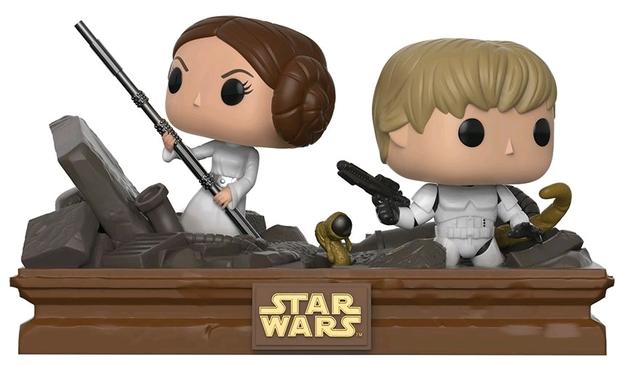 Star Wars 2018, Toy NEU Funko Vynl: Princess Leia /& Luke Skywalker 2pk