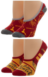 Harry Potter : No Show Liner Socks - 2-Pack