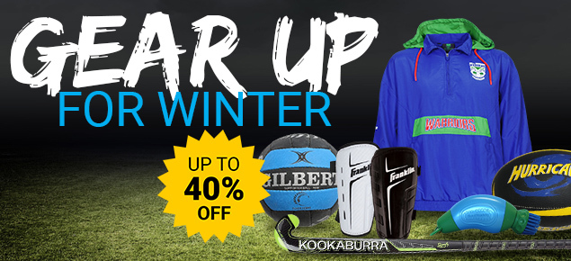Gear up for winter sale!