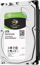 "3TB Seagate BarraCuda 3.5"" 5400RPM SATA HDD image"