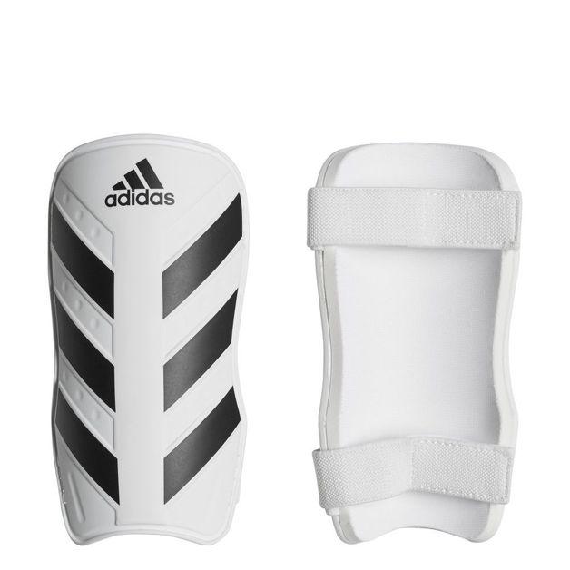 Adidas: Everlite Shin Guard - White/Black (Large)