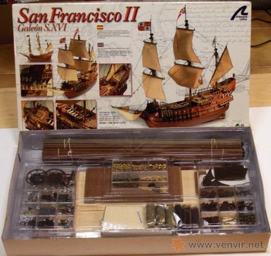 Artesania Latina San Francisco Ii 1 90 Wooden Model Kit
