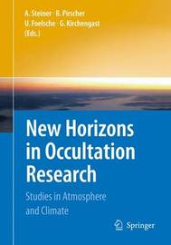 New Horizons in Occultation Research