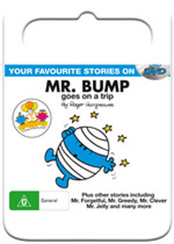 Mr Men & Little Miss: Mr Bump Goes on a Trip on DVD