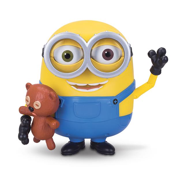 minions  talking bob with teddy bear  toy  at mighty ape nz