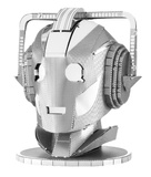 Metal Earth: Dr Who Cyberman Head - Model Kit