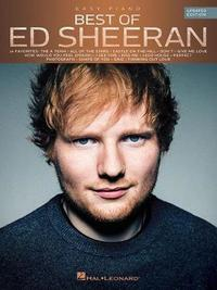 Best Of Ed Sheeran (Updated Edition) Easy Piano Book by Ed Sheeran