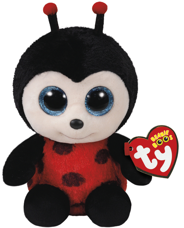 Ty Beanie Boo: Izzy Lady Bug - Small Plush