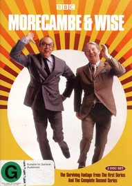 Morecambe & Wise - Surviving Footage From Series 1 And Complete Series 2 (2 Disc Set) on DVD