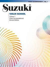 Suzuki Violin School, Vol 7 by Shinichi Suzuki
