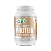 Green Tea X50: 100% Lean Whey Protein - Cinnamon Donut (1kg)