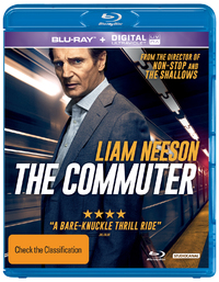 The Commuter on Blu-ray