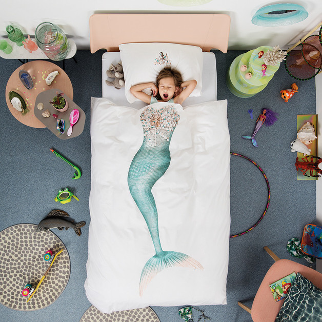Snurk: Quilt Cover Set Mermaid - King Single