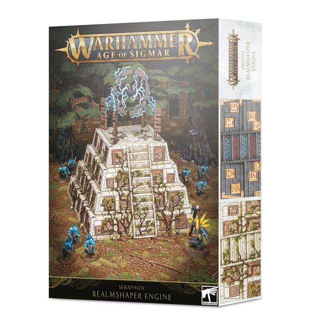 Warhammer Age of Sigmar: Seraphon Realmshaper Engine