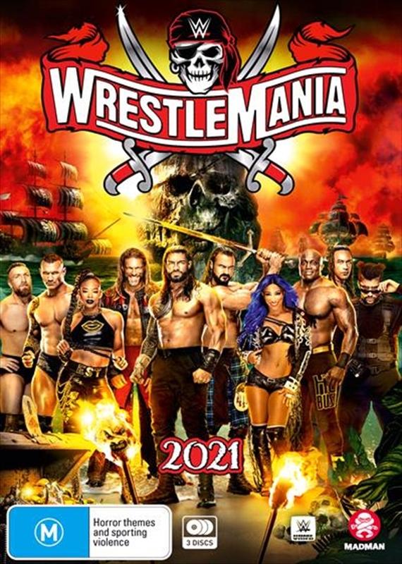 WWE: Wrestlemania 37 on DVD