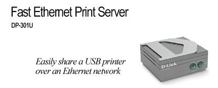 D-Link 1 Port Print Server, 1 x USB Port