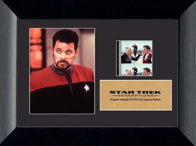 "Star Trek VII: Generations Mini-Cell Film Cell (7"" x 5"")"
