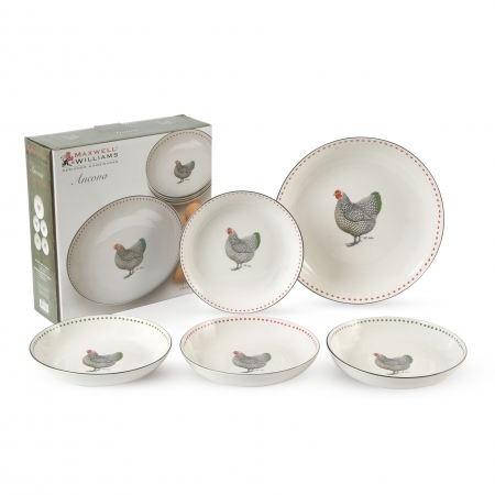 Maxwell Williams Ancona Pasta Set 5 Piece At Mighty