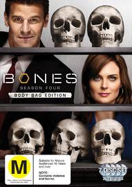 Bones - Season 4 (7 Disc Set) on DVD