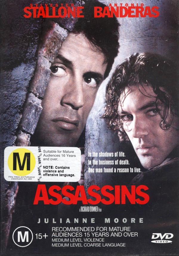 Assassins on DVD image