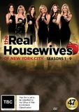 The Real Housewives of New York - Seasons 1-9 on DVD
