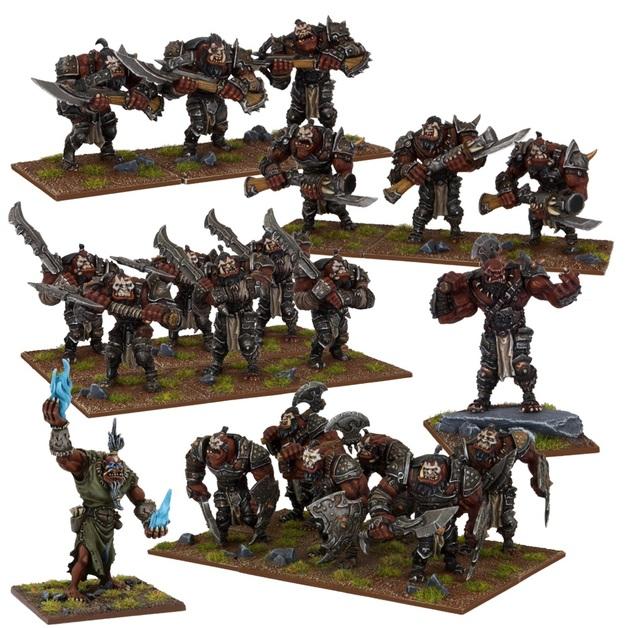 Kings of War Ogre Army